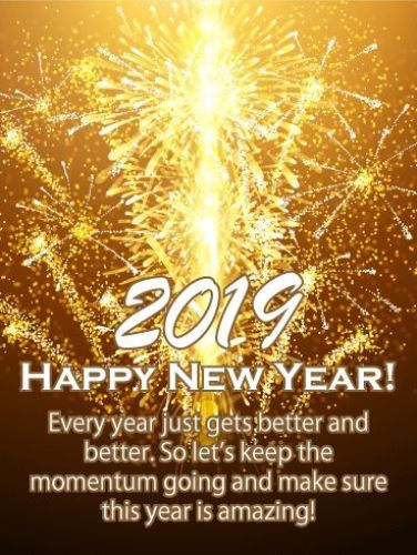 Happy New Year 2019 Happy New Year Greetings 2019 For Friends