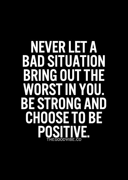 Success Quotes There Is Something Positive In Every Situation