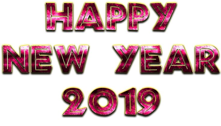 Happy New Year 2019 Happy New Year Png 2019 Png Hd Quality
