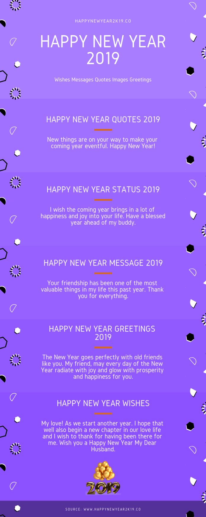 New Years Day Quotes 2019: Happy New Year 2019 : Happy New Year 2019 Quotes, Messages