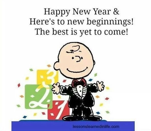 Happy New Year 2019 Snoopy New Year Quotes Of The Day Your